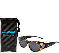 Jonathan Paul Kitti Kat Fitover Sunglasses with Case - F12663