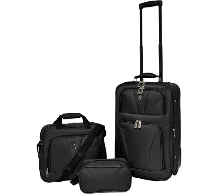 Travelers Club Softside Expandable Value Luggage Set - Bowman