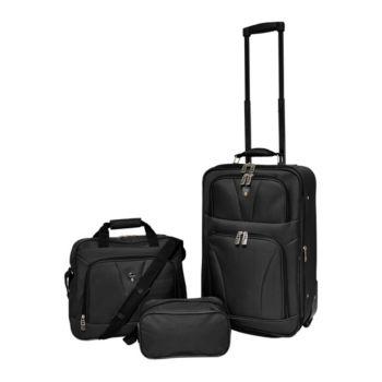 Travelers Club Softside Expandable Value Luggage Set - Bowman