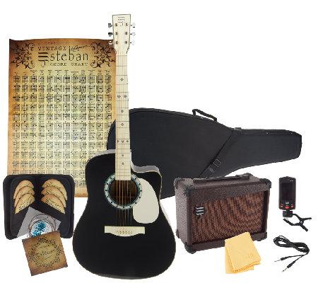 esteban vintage guitar how to play 10 dvd set 11 piece kit page 1. Black Bedroom Furniture Sets. Home Design Ideas