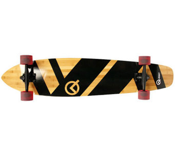 "Quest Super Cruiser 44"" Artisan Bamboo Long Board - F247865"