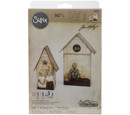 Sizzix Bigz Large Tiny Houses Die by Tim Holtz