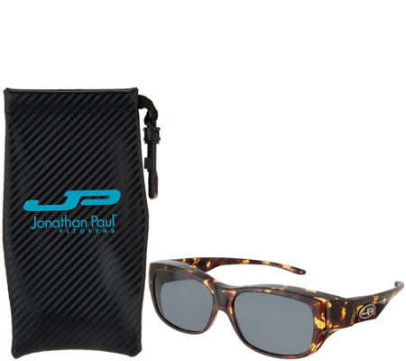 Jonathan Paul Polarized Fitovers Sunglasses with AR Coating