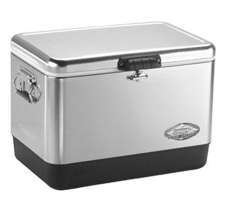 Coleman 54-Qt Stainless Steel Belted Cooler