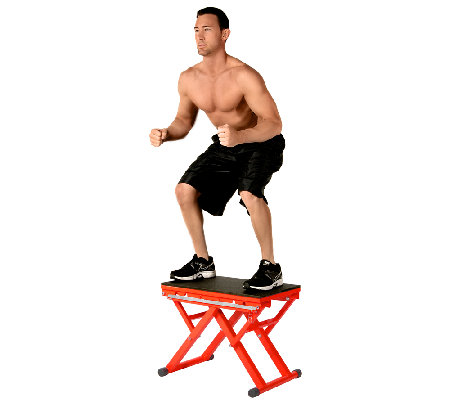 Stamina X Adjustable Height Plyo Box