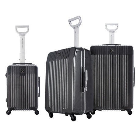 Travelers Club 3-Piece Hardside Spinner LuggageSet