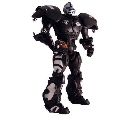 Nfl Oakland Raiders Cleatus The Fox Sports Robot Qvc Com