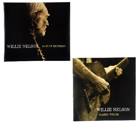 Willie Nelson Band of Brothers & Classic Willie CD