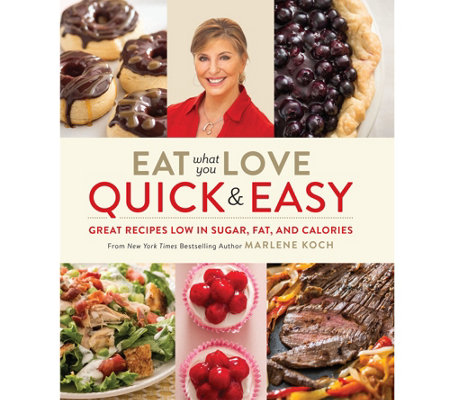 """Eat What You Love - Quick and Easy"" Cookbook by"