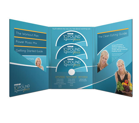 Chris Freytag 10 Pound Slim Down Xtreme Fitness DVD Program