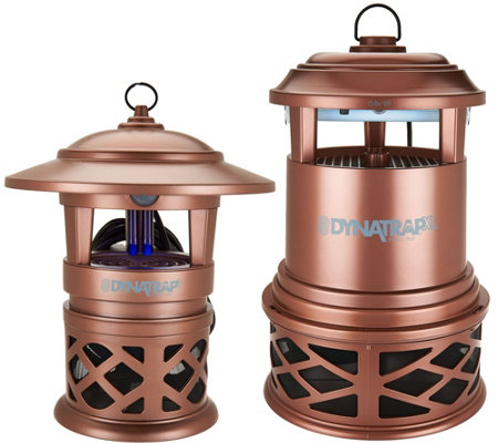 DynaTrap Decora Indoor/Outdoor Mosquito and Insect Trap w/Extra Bulbs