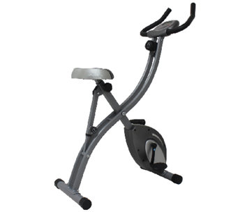 Sunny Health & Fitness Folding Upright Bike - F248971