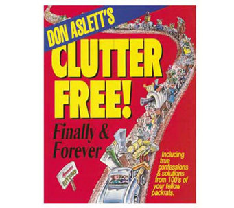 "Don Aslett's ""Clutter Free! Finally & Forever"" - F150674"