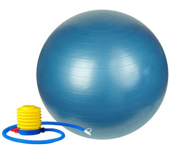 "Sunny Health & Fitness Anti-Burst Gym Ball, 30"" - F249174"