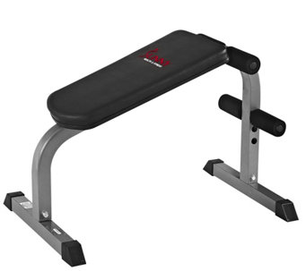 Sunny Health & Fitness SF-BH6502 Heavy Duty Sit-Up Bench - F249574