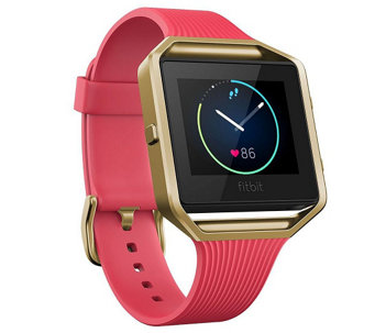 Fitbit Blaze Smart Fitness Watch, Special Edition Tapered Gol - F249674