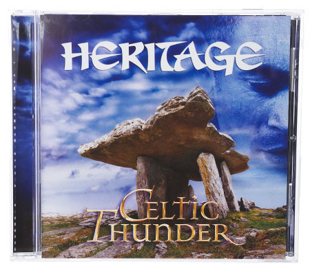 Celtic Thunder Heritage 13 Track CD w/Bonus Track and DVD