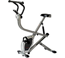 Sunny Health & Fitness SF-B2620 Dual Action Rider Bike - F249775