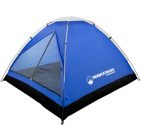 Wakeman Outdoors 2-Person Tent with Removable Rain Fly