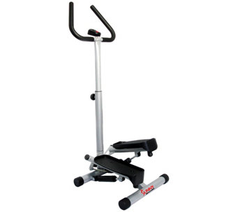 Sunny Health & Fitness Twist Stepper with Handle Bars - F249176