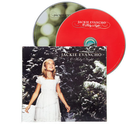 Jackie Evancho O Holy Night 4 Track CD with DVD