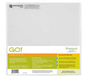 "GO! Cutting Mat 10""x10"" - F192277"