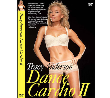 Tracy Anderson Perfect Design Series Dance Cardio II Workout DVD