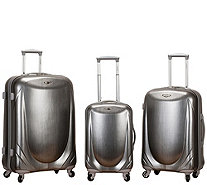 Rockland Luggage Hyperspace 3-Piece Polycarbonate Spinner Set - F249078