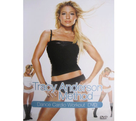 The Tracy Anderson Method Presents Dance Cardio Workout DVD