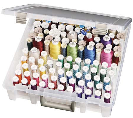 Art Bin Super Satchel Box With Removable ThreadTrays
