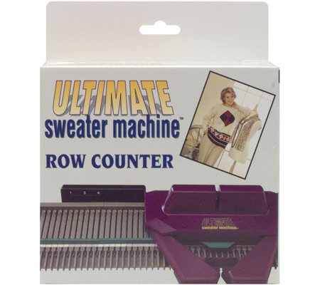 The Ultimate Sweater Machine Row Counter