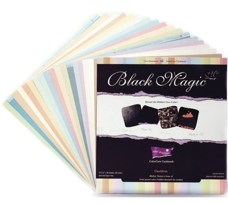 Core'dinations Black Magic Cardstock Assortment