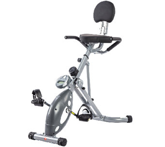 Sunny Health & Fitness Folding Recumbent Bike - F249182