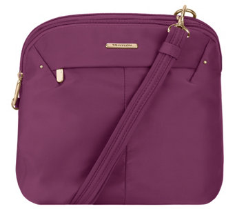 Travelon Anti-Theft Domed Crossbody with RFID - F12484