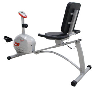 Sunny Health & Fitness Magnetic Recumbent Bike - F248985