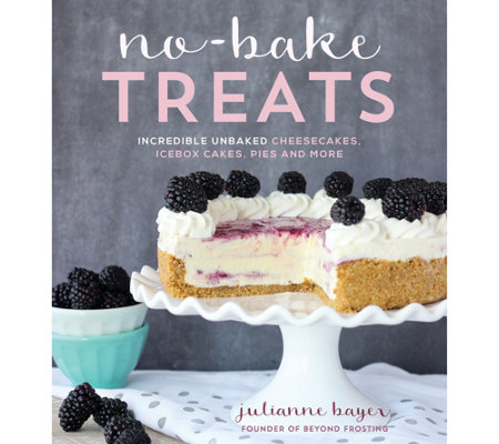 No-Bake Treats Cookbook by Julianne Bayer