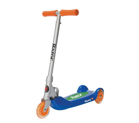 Razor Junior Folding Kiddie Kick Blue Scooter