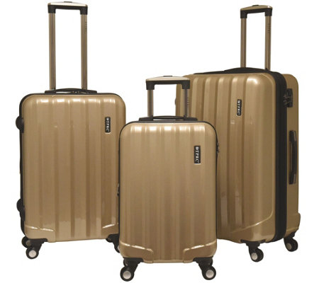 Travelers Club 3-Piece Hardside Spinner LuggageSet - Rio