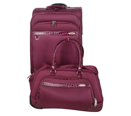"Samsonite Esplanade 25"" Spinner and Rolling Duffel Set"