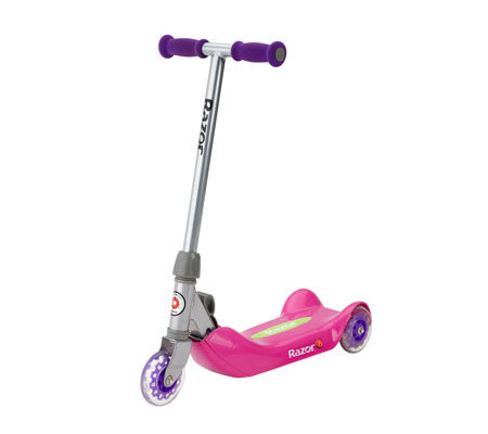 Razor Junior Folding Kiddie Kick Pink Scooter