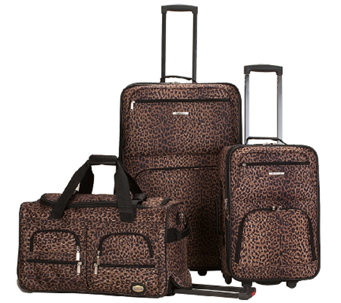Fox Luggage Three-Piece Luggage Set - F249088