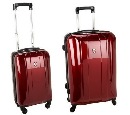 "Heys 26"" and 22"" Hardside Spinner Luggage Set"