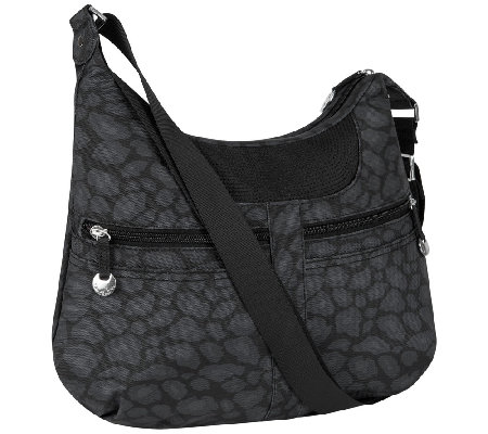 Travelon Hobo Bag with Stitch Detail - Page 1 — QVC.com