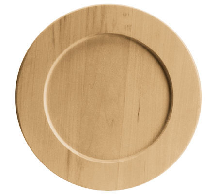 Basswood Country Plate
