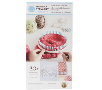 Martha Stewart Crafts Knit & Weave Loom - F247090