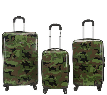 Fox Luggage 3-Piece Safari Spinner Set