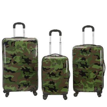 Fox Luggage 3-Piece Safari Spinner Set
