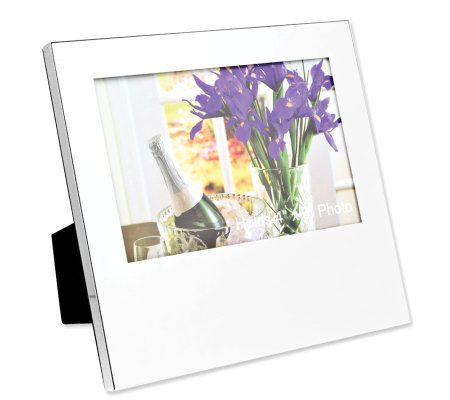 "Silvertone Oversized 4"" x 6"" Photo Frame"