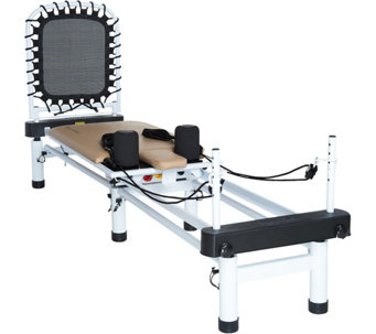 AeroPilates 5-Cord Pro Reformer with Rebounder and Stand - F13092
