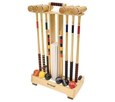 sportcraft garden collection croquet set - Croquet Set
